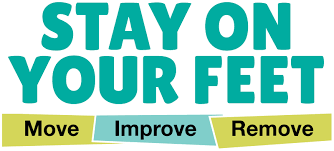 Stay On Your Feet Falls Prevention logo